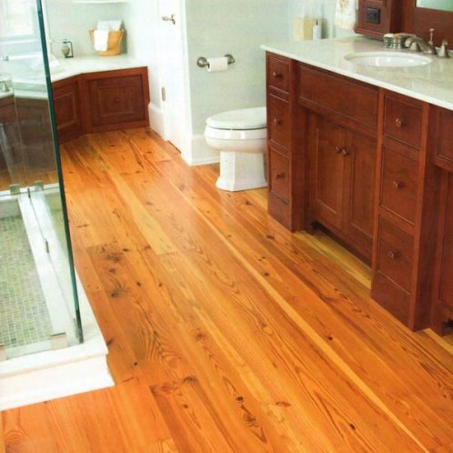 Reclaimed Heart Pine Flooring Southern Crafted Millwork